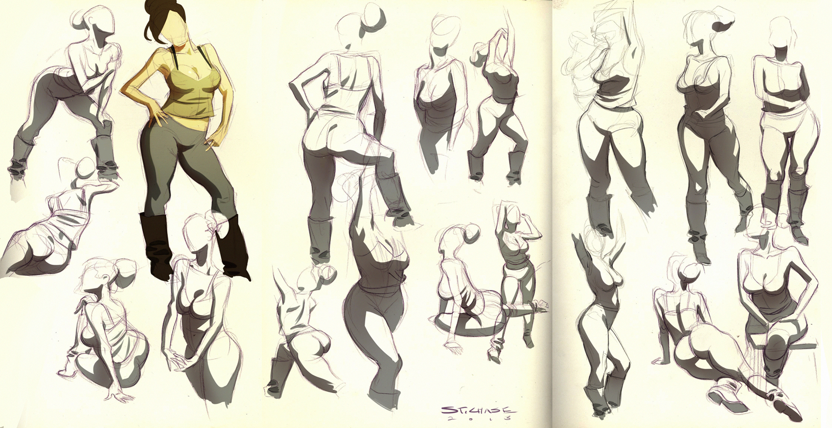 Figure Studies by ChaseConley