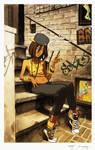 Kinetic Kartel- Outside a Favela Bar Colors