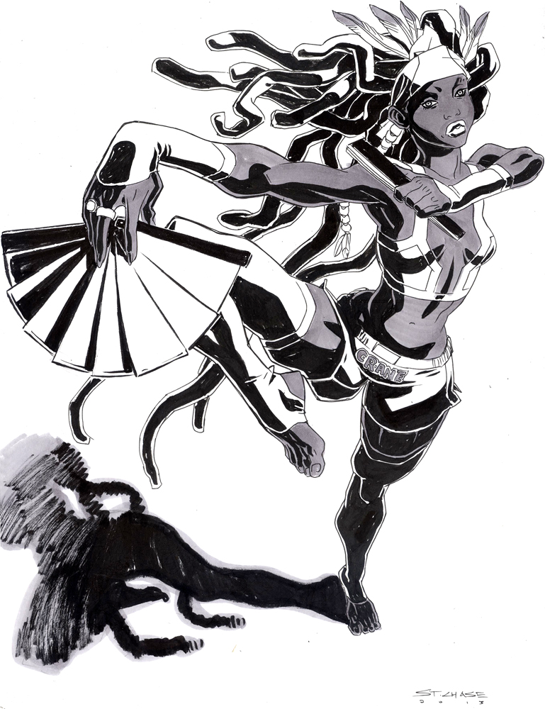 Ink Commission 1 by ChaseConley