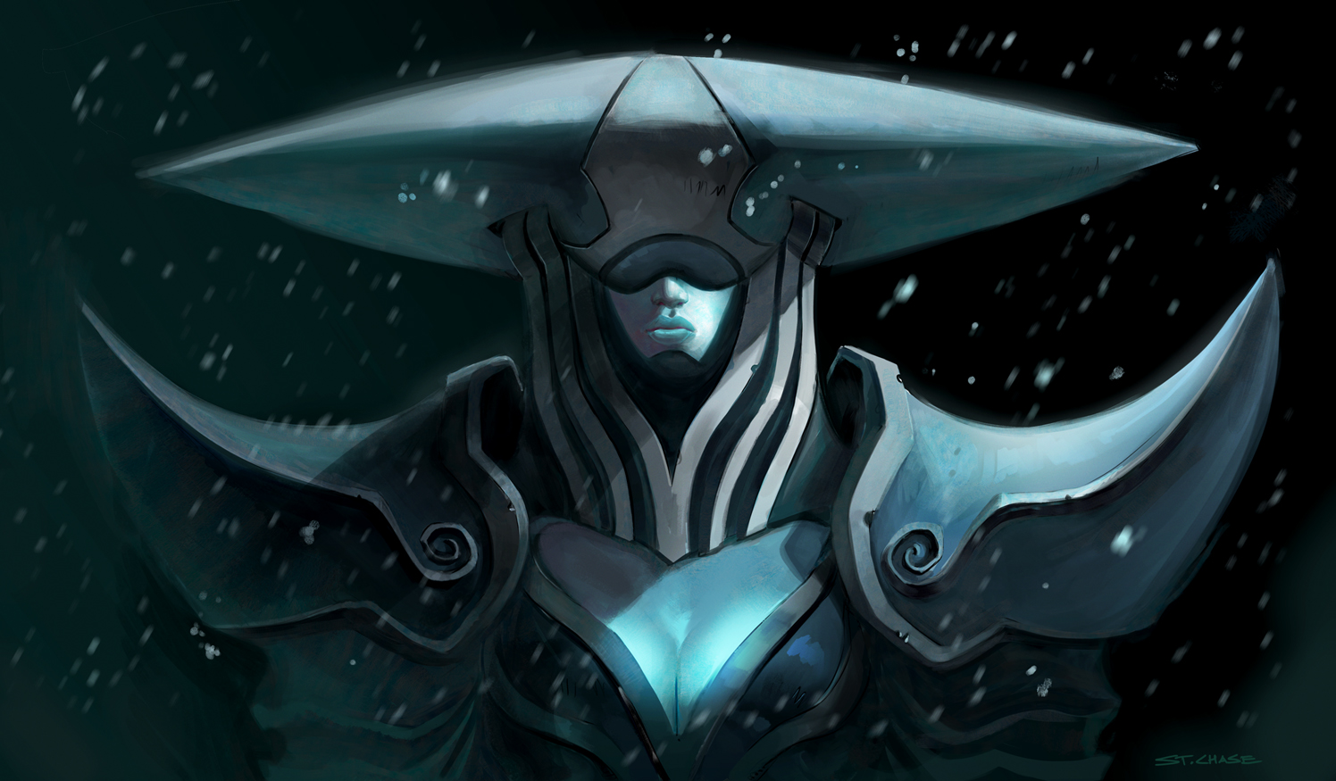 League of Legends- Lissandra by ChaseConley on DeviantArt