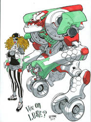 Marker Mecha by ChaseConley
