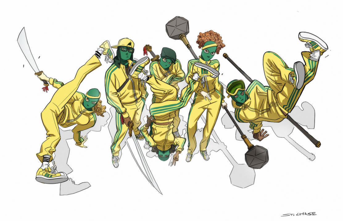 B-Boy Wing Chun fighters by ChaseConley
