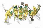 B-Boy Wing Chun fighters