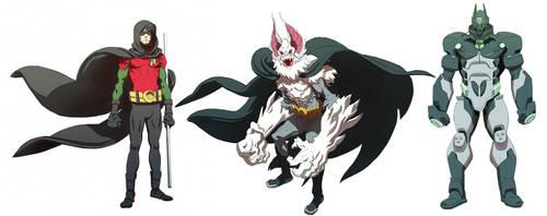 Unused Batman Designs