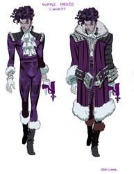 Trill League- Purple Freeze Design