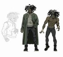Ghost - unused character design