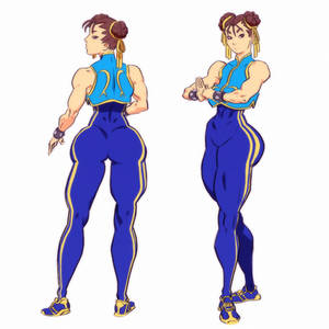 Street fighter Alpha- Chun Li