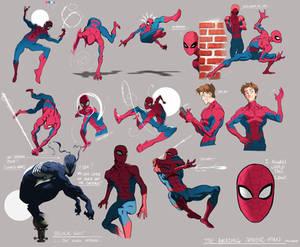 Spiderman Sketches 1