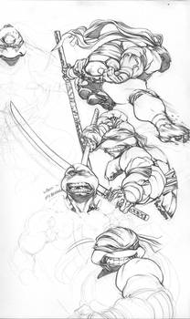 TMNT sketches