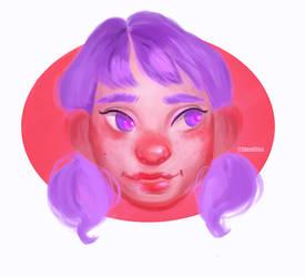 I am a purple by afifesayar