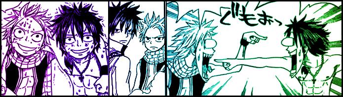 Fairy Tail: Natsu and Gray by BingoBango