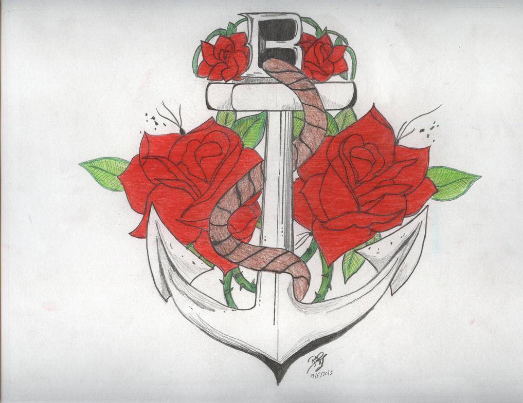 Wade Barrett Anchor by PunkRoXanne