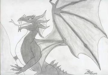 Death wings by PunkRoXanne