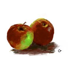 Apples - still_nature study :)