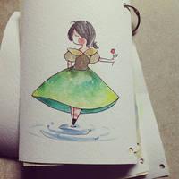 Sketchbook made by me by Bibotam