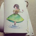 Sketchbook made by me