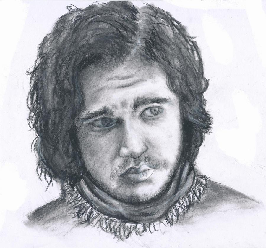 Jon Snow by moo-c0w