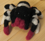 Jumping Spider Art Doll by DancingVulture