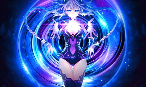 - Libre service d'Akazaya - Hyperdimension_neptunia_by_akazaya-da57eg1
