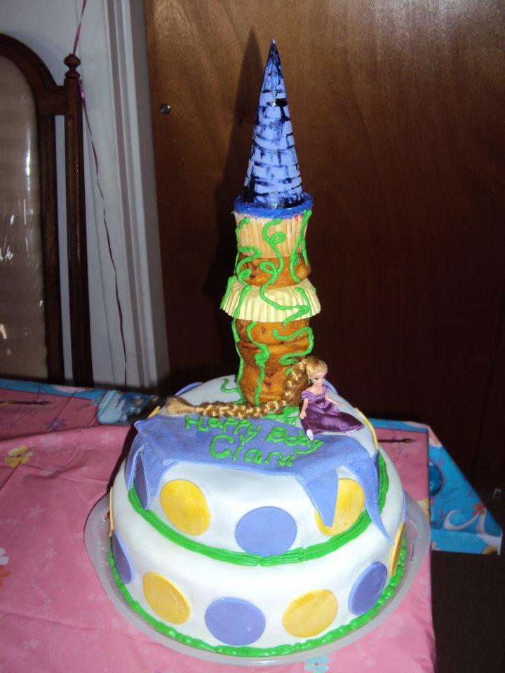 Rapunzel Figurine Set Birthday Cake Topper Incl Flynn