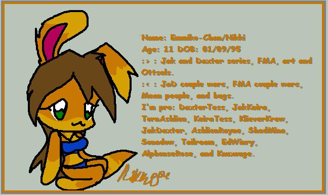 :Ottsely ID by sarathehedgehog