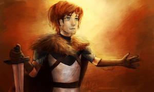 Robb Stark by camibee