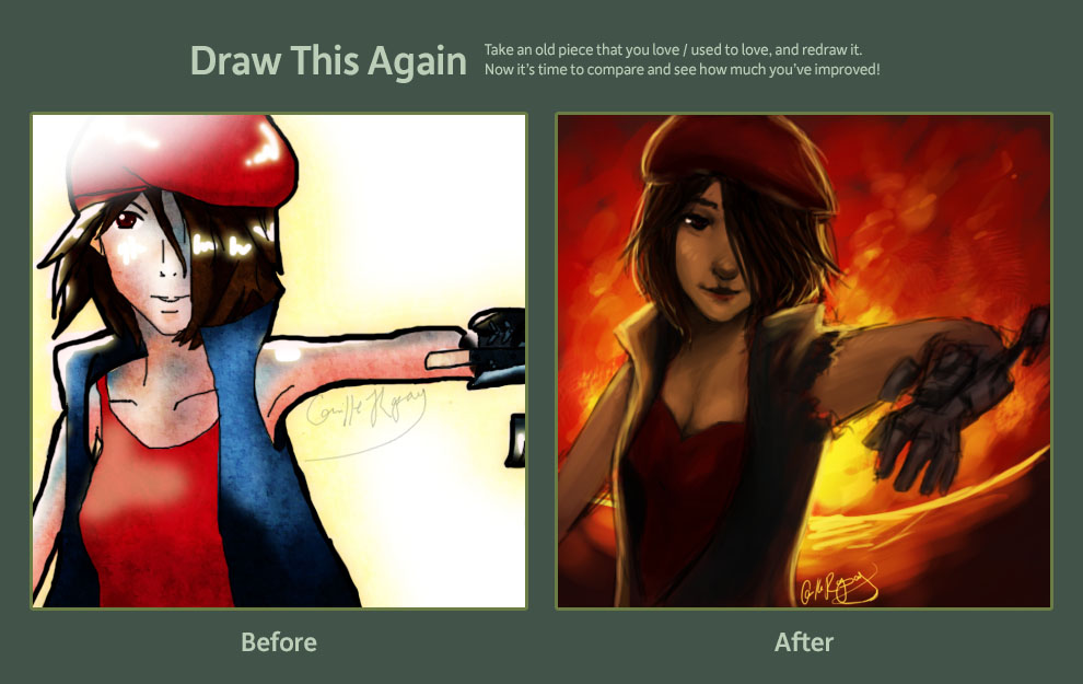 Draw This Again: 2009-2012 by camibee