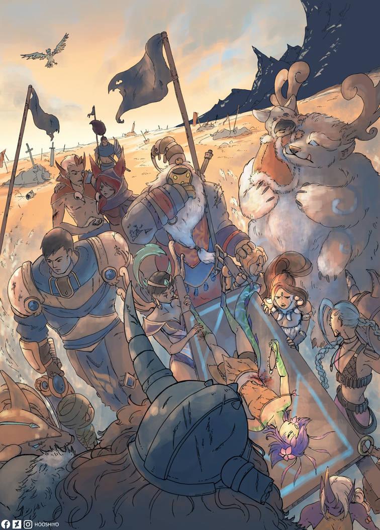 League of Legends by hooshiyo