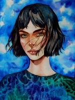 Blue by MORGANA0ANAGROM