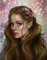 Elain Archeron by MORGANA0ANAGROM