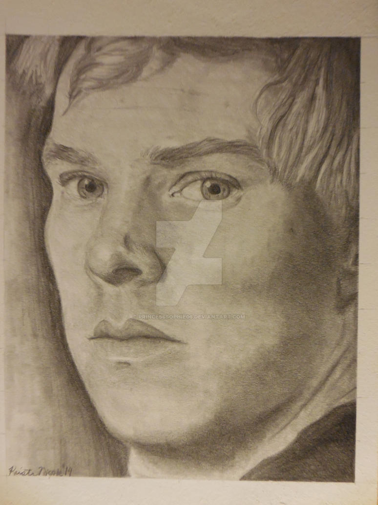 Benedict Cumberbatch portrait #2 by PrincessSophie06