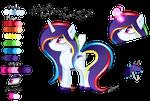 Adopt Auction Rarity x Rainbow Dash -[CLOSED] by PrincessMoonSilver