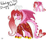[Open] - Valetine's day dragon Adopt by PrincessMoonSilver