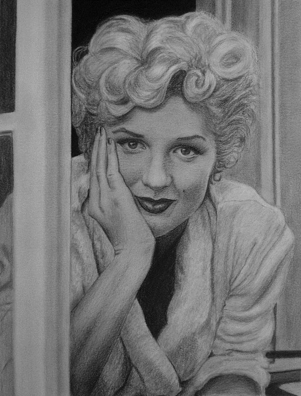 Marilyn Monroe by speedboy201