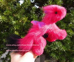 Baby Pet Dragon pink black by Jerseydays