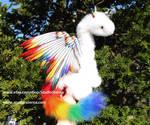 Rainbow Pet Dragon doll by Jerseydays