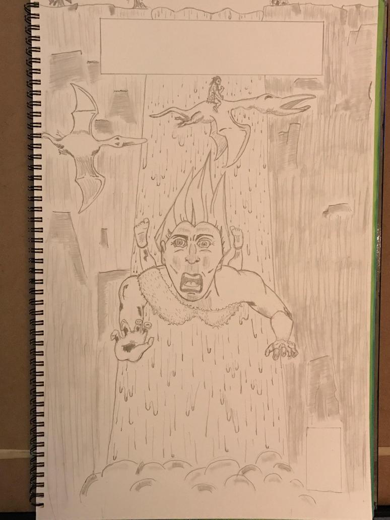 Kubert Pencilling Assignment #2 by mightyutu