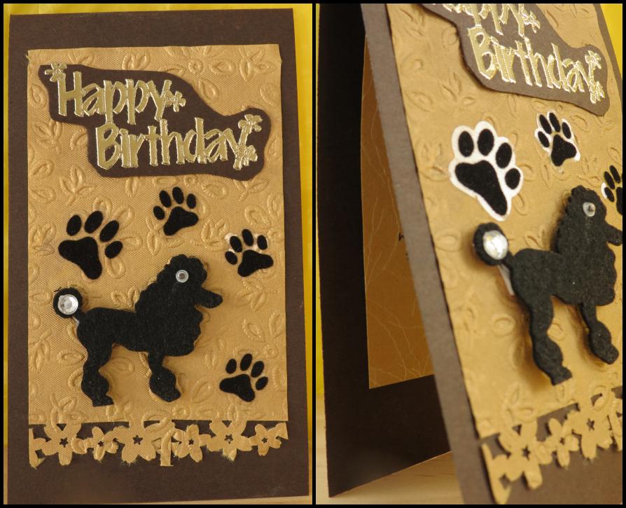 Birthday Card Dog Free Printable