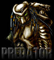 AVP Predator - Coloured by RR-DF-RaptorRed