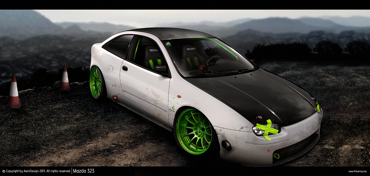 Mazda 323 by AeroDesign94