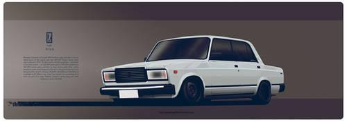 Lada Riva by AeroDesign94