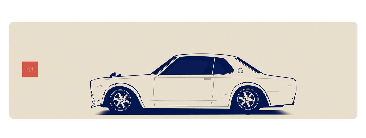Nissan KPGC 10 by AeroDesign94