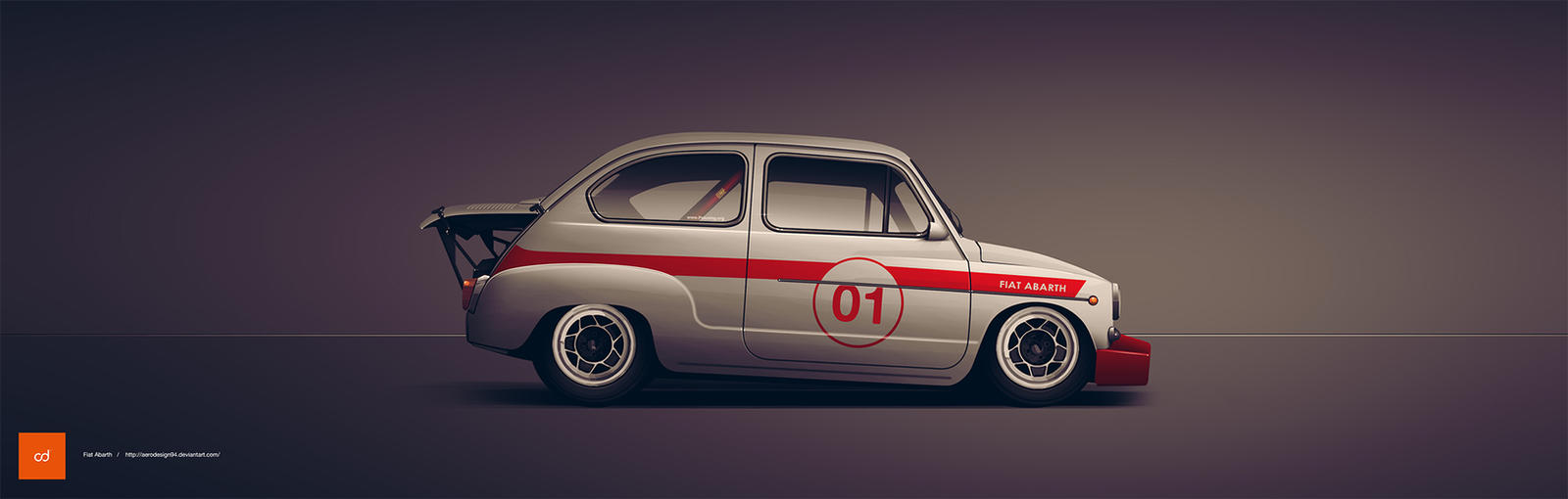 Fiat Abarth 1000 Tc By Aerodesign94 On Deviantart