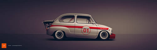 Fiat Abarth 1000 TC by AeroDesign94