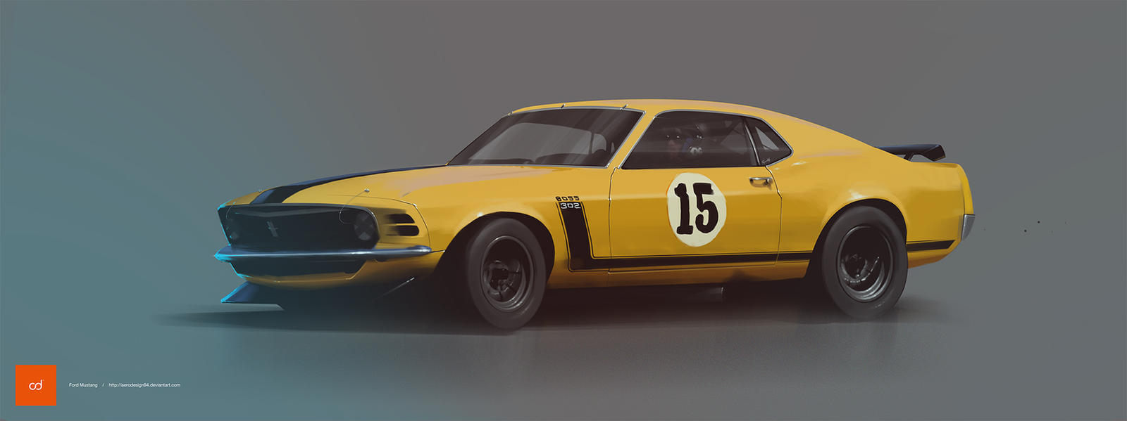 Ford Mustang Boss by AeroDesign94
