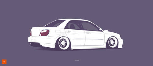 Subaru Impreza by AeroDesign94