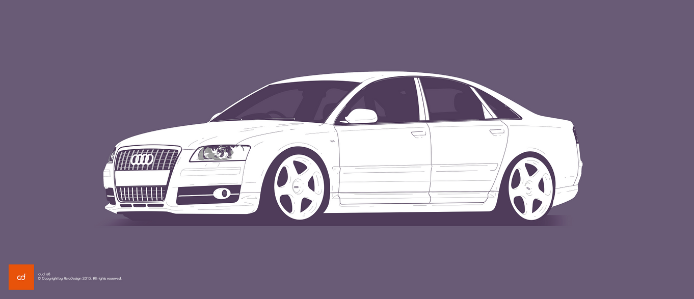 COMMISSION: Audi S8 by AeroDesign94