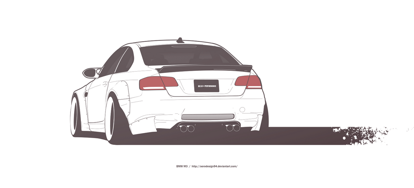 Commission Bmw M3 E92 By Aerodesign94 On Deviantart