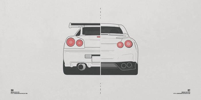 Nissan R34 / R35