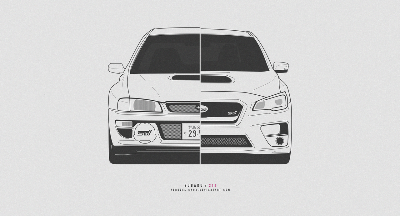 COMMISSION: Subaru STI by AeroDesign94